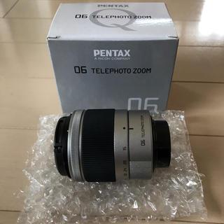 ペンタックス(PENTAX)のPENTAX 06 TELEPHOTO ZOOM 交換レンズ デジカメ(ミラーレス一眼)