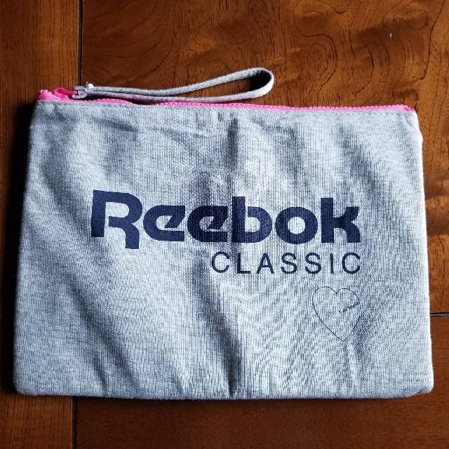 Reebok(リーボック)のReebok 布製ポーチ レディースのファッション小物(ポーチ)の商品写真