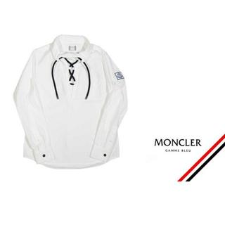 モンクレール(MONCLER)の希少! モンクレール ガムブルー トップス(シャツ)