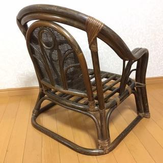 藤ロータイプ椅子(その他)
