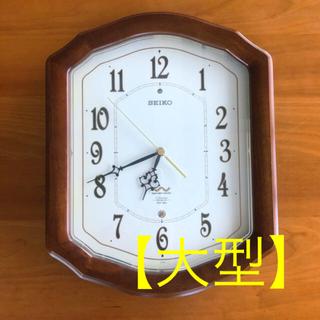 セイコー(SEIKO)の【美品】セイコー 電波時計 壁掛け(掛時計/柱時計)