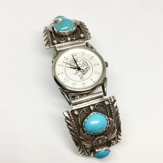 ロンハーマン(Ron Herman)の◊ ナバホ ◊ ターコイズ ウォッチ ◊インディアンジュエリー◊シルバー 時計◊(腕時計(アナログ))