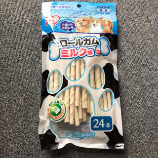アイリスオーヤマ(アイリスオーヤマ)の専用 ロールガムミルク味24本入り4袋(ペットフード)