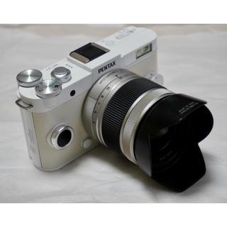 ペンタックス(PENTAX)のPENTAX Q-S1 ミラーレス一眼カメラ 単焦点レンズ付(ミラーレス一眼)
