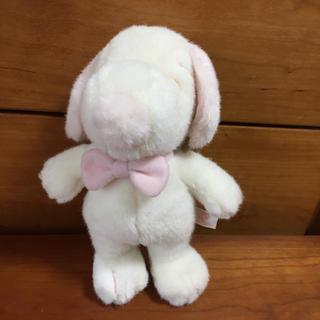 スヌーピー(SNOOPY)のパステル ピンク スヌーピー ぬいぐるみ(ぬいぐるみ)