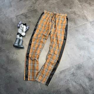 バーバリー(BURBERRY)のバーバリー ロングパンツ カジュアル チェック柄 ポケット付き 正規品 L(その他)