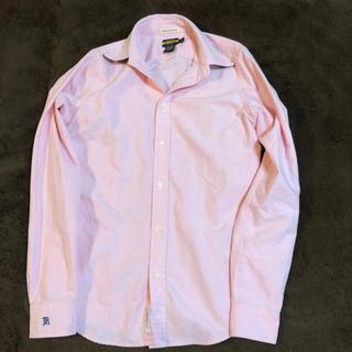 ポロラグビー(POLO RUGBY)のRALPH LAUREN RUGBY長袖シャツ(ピンク)(シャツ/ブラウス(長袖/七分))