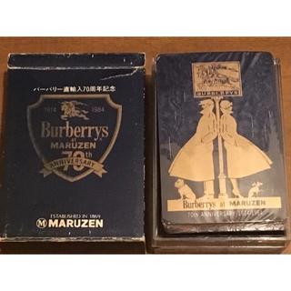 バーバリー(BURBERRY)の【非売品】Burberryトランプ(その他)