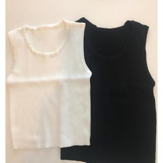 プチバトー(PETIT BATEAU)の最安値❗️ラスト1❗️リブノースリーブ(Tシャツ/カットソー)