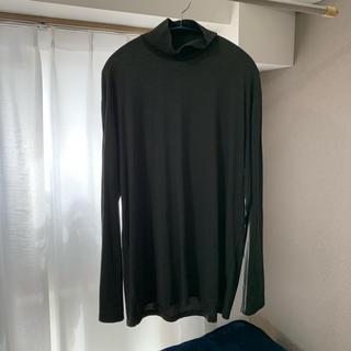 ラッドミュージシャン(LAD MUSICIAN)のlad musician HIGH NECK T-SHIRT(Tシャツ/カットソー(七分/長袖))