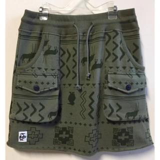 チャムス(CHUMS)の新品 CHUMS Sweat Bush Shirt Native チャムス(ひざ丈スカート)