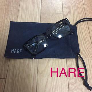 ハレ(HARE)の美品 HARE メガネ(サングラス/メガネ)