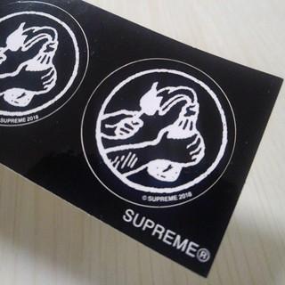 シュプリーム(Supreme)のシュプリーム ミニ ステッカー 携帯 スマホ PC ノートパソコン 自転車 車(トラベルバッグ/スーツケース)