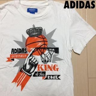 アディダス(adidas)の#1104 adidas アディダス オリジナルス バスケット Tシャツ(Tシャツ/カットソー(半袖/袖なし))