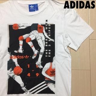 アディダス(adidas)の#770 アディダス adidas バスケットボール プリント Tシャツ XS(Tシャツ/カットソー(半袖/袖なし))