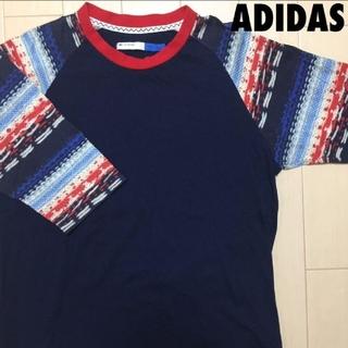 アディダス(adidas)の#1111 adidas アディダス オリジナル ネイティヴ ラグラン Tシャツ(Tシャツ/カットソー(七分/長袖))