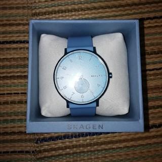 スカーゲン(SKAGEN)のSKAGEN AAREN KULOR ライトブルー(腕時計)