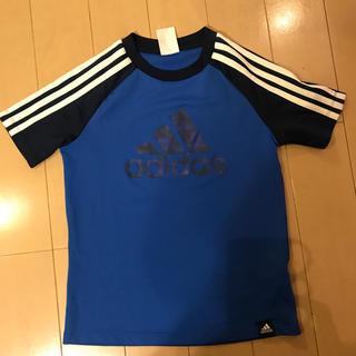 アディダス(adidas)のアディダスTシャツ 130 ブルー(Tシャツ/カットソー)