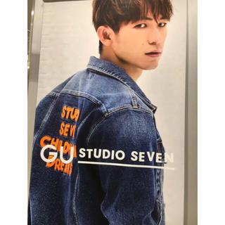 サンダイメジェイソウルブラザーズ(三代目 J Soul Brothers)のstudio seven GU コラボ デニムジャケット(Gジャン/デニムジャケット)