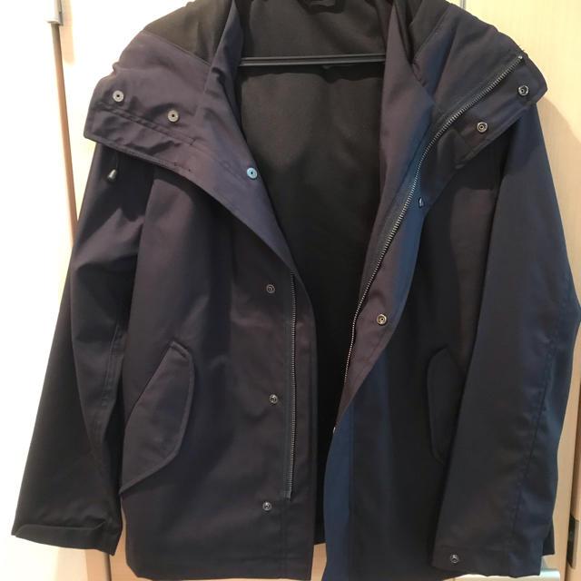 GU(ジーユー)のマウンテンパーカー ネイビー メンズのジャケット/アウター(マウンテンパーカー)の商品写真