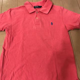 ポロラルフローレン(POLO RALPH LAUREN)のポロラルフローレン ポロシャツ ピンク 120(Tシャツ/カットソー)