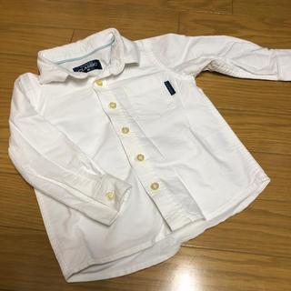 ニシマツヤ(西松屋)の子供の白シャツ(ドレス/フォーマル)