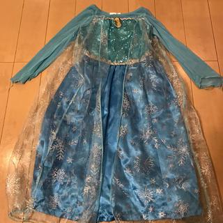 ディズニー(Disney)のアナと雪の女王 エルサ衣装  100センチ(衣装)