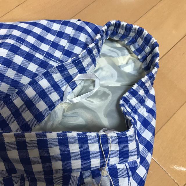 THE EMPORIUM(ジエンポリアム)の新品 札付 THE EMPORIUM ギンガムチェック スカート 裏地付き L レディースのスカート(ひざ丈スカート)の商品写真