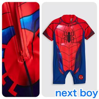 144a2d51aff ネクスト(NEXT)の【新品】next スパイダーマン サンセーフスイムスーツ(ヤンガー