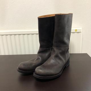 ジルサンダー(Jil Sander)のジルサンダー  ビンテージデザイン レザーブーツ 24.5〜25.0(ブーツ)