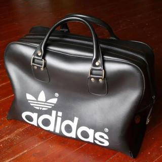 アディダス(adidas)の◆70sヴィンテージadidas【PETER BLACK社】UK製レアサイズ(ボストンバッグ)