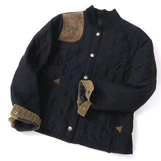 ラルフローレン(Ralph Lauren)のラルフローレン オールドレザー使い◎キルティングジャケット(ブルゾン)