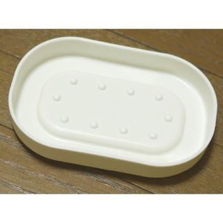 イケア(IKEA)のソープディッシュ IKEA ホワイト 石鹸置き(タオル/バス用品)