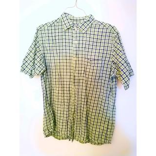 ユニクロ(UNIQLO)のUSED 送料込 ユニクロ半袖チェックシャツXLサイズ(シャツ)
