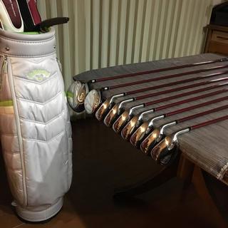 キャロウェイゴルフ(Callaway Golf)の㊗️令和元年🏌️♀️超美品💗レディース⛳️フルセット&キャディバッグ付(クラブ)