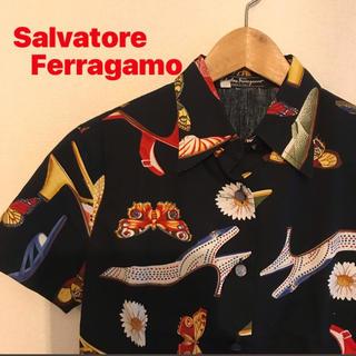 サルヴァトーレフェラガモ(Salvatore Ferragamo)の【最終価格!】フェラガモ Vintage セットアップ(ハイヒール/パンプス)