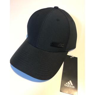 アディダス(adidas)の新品 adidas キャップ 54〜57センチ ブラック(帽子)