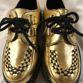 ジョージコックス(GEORGE COX)の新品 未使用品 アンダーグラウンド 厚底ソール(ローファー/革靴)