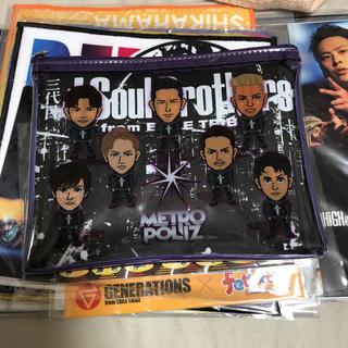 サンダイメジェイソウルブラザーズ(三代目 J Soul Brothers)の三代目 ポーチ(ポーチ)