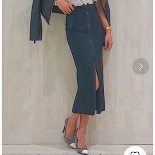 ディーゼル(DIESEL)の美品未使用 ロングタイトスカート O-GONDA 27インチ(ロングスカート)