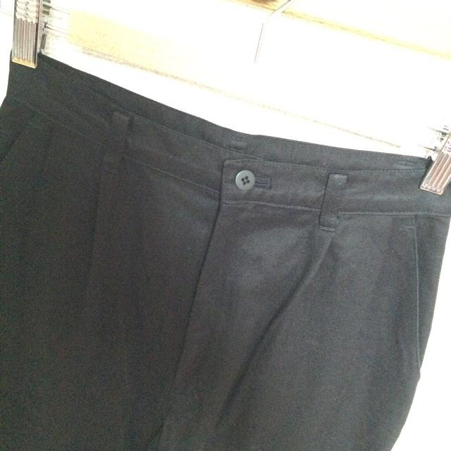 ワイドパンツ ブラック レディースのパンツ(バギーパンツ)の商品写真