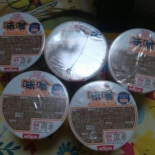 日清食品 - カップヌードル味噌味
