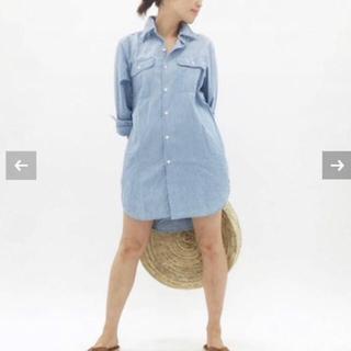 マディソンブルー(MADISONBLUE)のMADISONBLUE HAMPTON ロングシャツ(シャツ/ブラウス(長袖/七分))