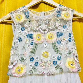 24a83d419d1a3 アンソロポロジー(Anthropologie)のbhldn スパンコールドレス ウェディングドレス(ウェディングドレス)