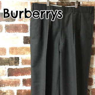 バーバリー(BURBERRY)の[ Burberrys ]バーバリーズ ワイド スラックス ツータック グレー(スラックス)