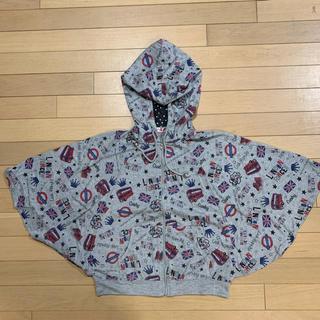 シマムラ(しまむら)のポンチョ パーカー 羽織もの 女児 160(Tシャツ/カットソー)