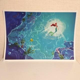 ディズニー(Disney)のリトルマーメイドポスター(額絵)+1枚おまけ(ポスター)