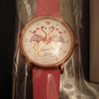 サマンサシルヴァ(Samantha Silva)のサマンサシルバ フラミンゴ 腕時計 ピンク 新品未使用(腕時計)