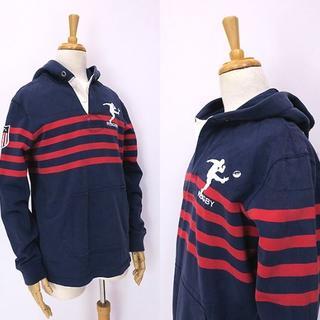 aa3f6dc3a367e ラルフローレン(Ralph Lauren)のRUGBY ラグビー ラルフローレン フーディラガーシャツ パーカー