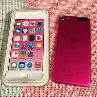 アイポッドタッチ(iPod touch)の第六世代 iPod Touch 16GB ピンク(スマートフォン本体)